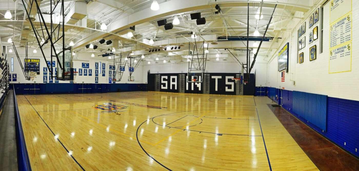SDHS Gym interior 2-1400